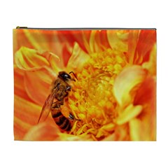 Honey Bee Takes Nectar Cosmetic Bag (xl)