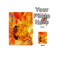 Honey Bee Takes Nectar Playing Cards 54 (Mini)