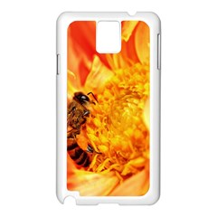 Honey Bee Takes Nectar Samsung Galaxy Note 3 N9005 Case (white)