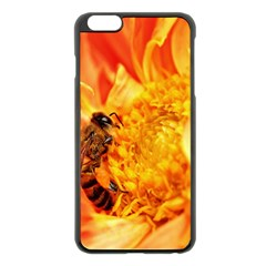 Honey Bee Takes Nectar Apple Iphone 6 Plus/6s Plus Black Enamel Case