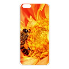 Honey Bee Takes Nectar Apple Seamless iPhone 6 Plus/6S Plus Case (Transparent)