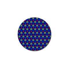 Honeycomb Fractal Art Golf Ball Marker (4 Pack)