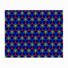 Honeycomb Fractal Art Small Glasses Cloth (2 Side)