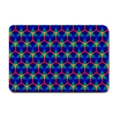 Honeycomb Fractal Art Small Doormat