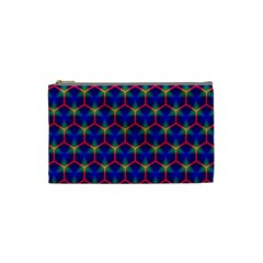 Honeycomb Fractal Art Cosmetic Bag (small)
