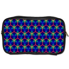 Honeycomb Fractal Art Toiletries Bags 2-Side
