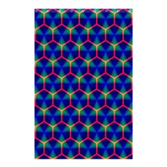 Honeycomb Fractal Art Shower Curtain 48  x 72  (Small)