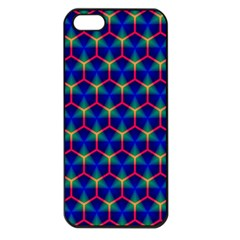 Honeycomb Fractal Art Apple Iphone 5 Seamless Case (black)
