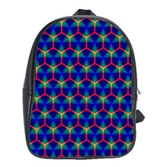 Honeycomb Fractal Art School Bags (xl)