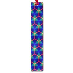 Honeycomb Fractal Art Large Book Marks