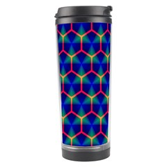 Honeycomb Fractal Art Travel Tumbler