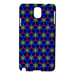 Honeycomb Fractal Art Samsung Galaxy Note 3 N9005 Hardshell Case