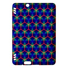 Honeycomb Fractal Art Kindle Fire Hdx Hardshell Case