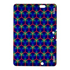 Honeycomb Fractal Art Kindle Fire Hdx 8 9  Hardshell Case