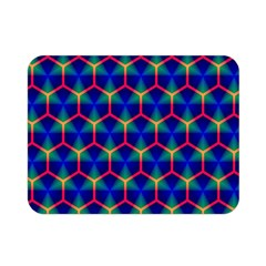 Honeycomb Fractal Art Double Sided Flano Blanket (Mini)