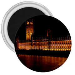 Houses Of Parliament 3  Magnets