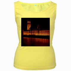 Houses Of Parliament Women s Yellow Tank Top