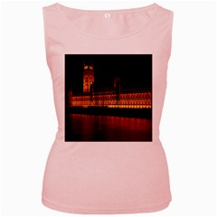 Houses Of Parliament Women s Pink Tank Top