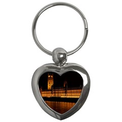 Houses Of Parliament Key Chains (Heart)