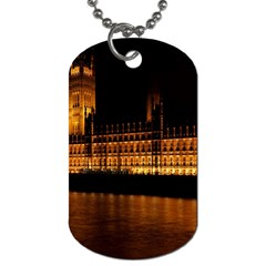 Houses Of Parliament Dog Tag (One Side)