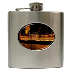 Houses Of Parliament Hip Flask (6 oz)