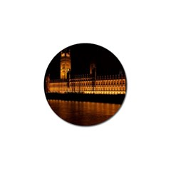 Houses Of Parliament Golf Ball Marker (10 pack)