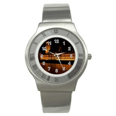 Houses Of Parliament Stainless Steel Watch