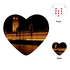 Houses Of Parliament Playing Cards (Heart)