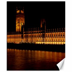 Houses Of Parliament Canvas 8  x 10