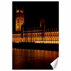 Houses Of Parliament Canvas 12  x 18