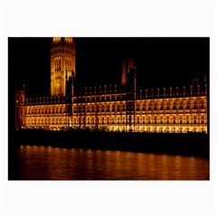 Houses Of Parliament Large Glasses Cloth