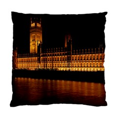 Houses Of Parliament Standard Cushion Case (two Sides)