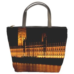Houses Of Parliament Bucket Bags