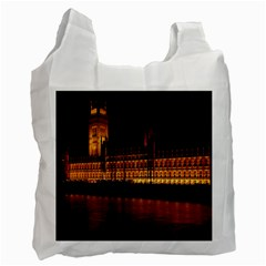 Houses Of Parliament Recycle Bag (Two Side)