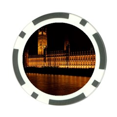 Houses Of Parliament Poker Chip Card Guard (10 Pack)