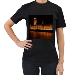 Houses Of Parliament Women s T Shirt (black)
