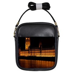 Houses Of Parliament Girls Sling Bags