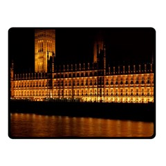 Houses Of Parliament Fleece Blanket (Small)