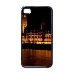 Houses Of Parliament Apple iPhone 4 Case (Black)