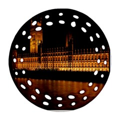 Houses Of Parliament Ornament (Round Filigree)