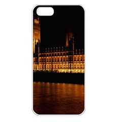 Houses Of Parliament Apple Iphone 5 Seamless Case (white)