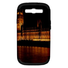 Houses Of Parliament Samsung Galaxy S III Hardshell Case (PC+Silicone)