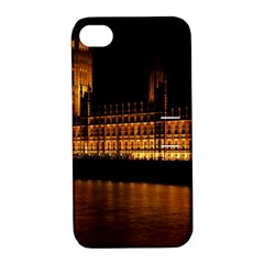 Houses Of Parliament Apple iPhone 4/4S Hardshell Case with Stand