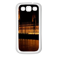 Houses Of Parliament Samsung Galaxy S3 Back Case (white)