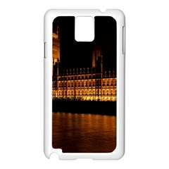 Houses Of Parliament Samsung Galaxy Note 3 N9005 Case (White)