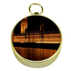 Houses Of Parliament Gold Compasses