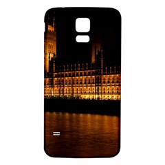 Houses Of Parliament Samsung Galaxy S5 Back Case (white)