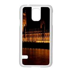 Houses Of Parliament Samsung Galaxy S5 Case (white)
