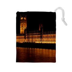 Houses Of Parliament Drawstring Pouches (Large)