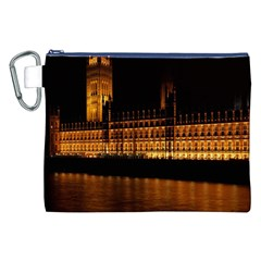 Houses Of Parliament Canvas Cosmetic Bag (XXL)